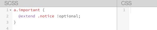 extend optional